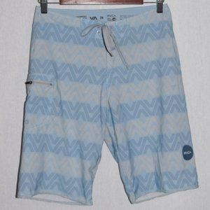 RVCA Performance Stretch Board Shorts Size 28